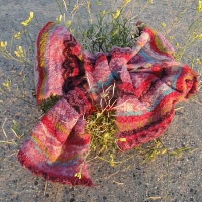 Farbenfroher Schal von Butapana