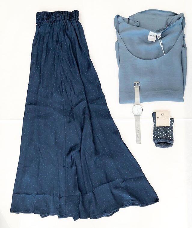 Farbkombinationen Silber/blau